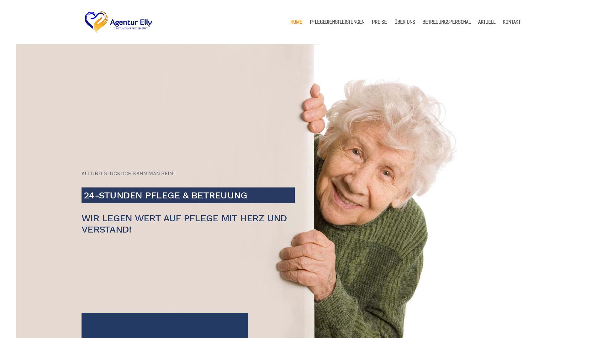 Agentur Elly 24h Pflege und Betreuung zu Hause